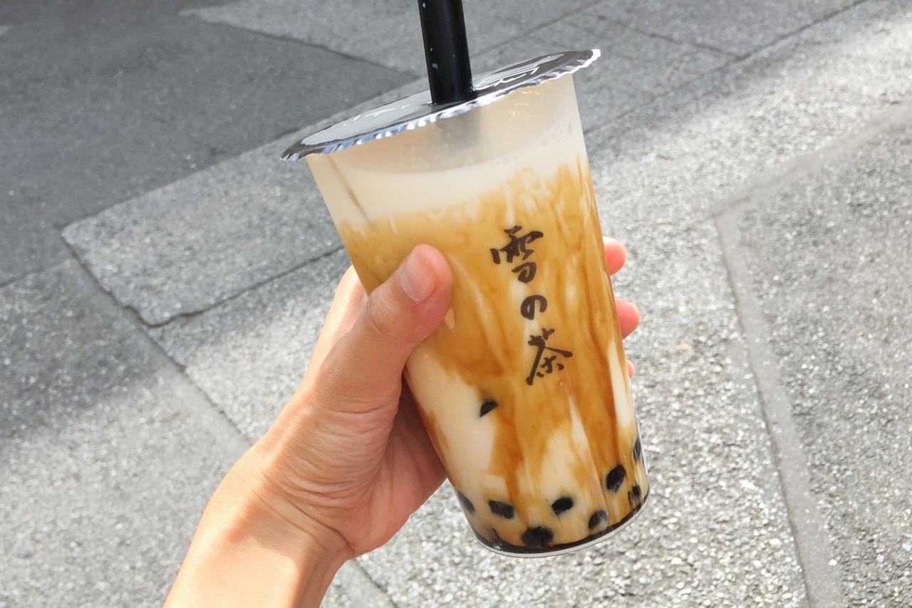 西千葉駅すぐ「台湾タピオカ専門店 雪の茶」黒糖タピオカミルク飲んでみた!メニューや値段も詳しく紹介