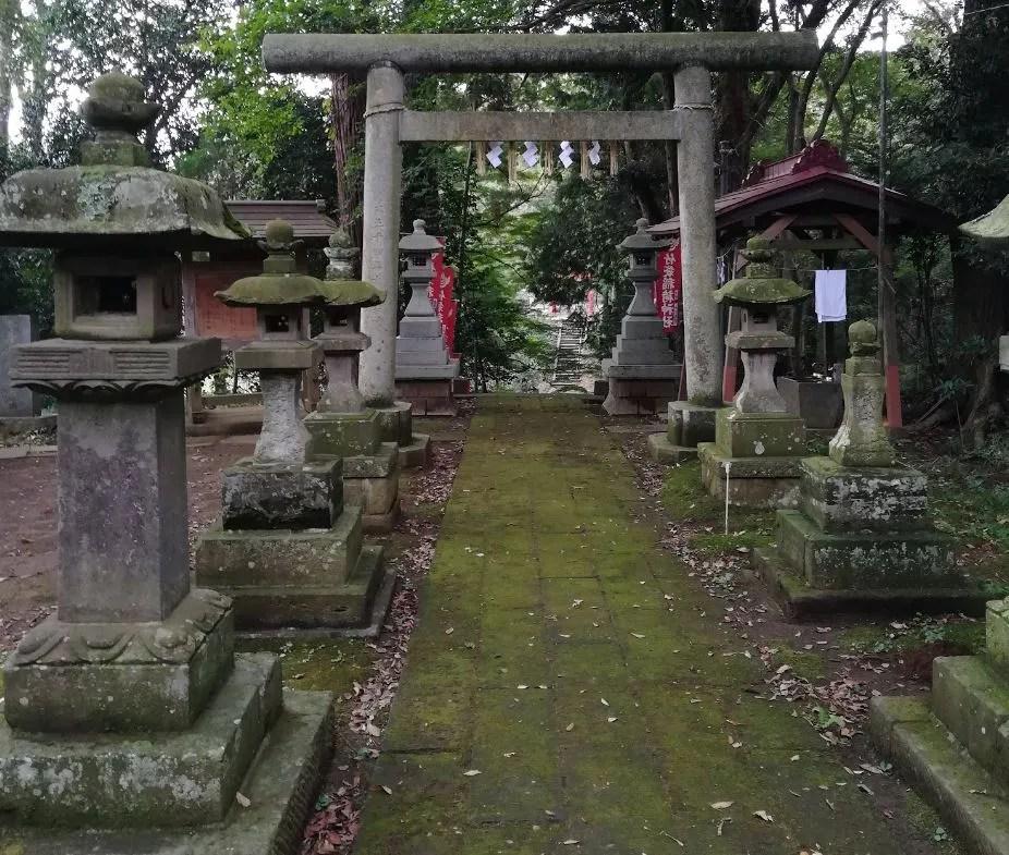 竹袋稲荷神社その2。