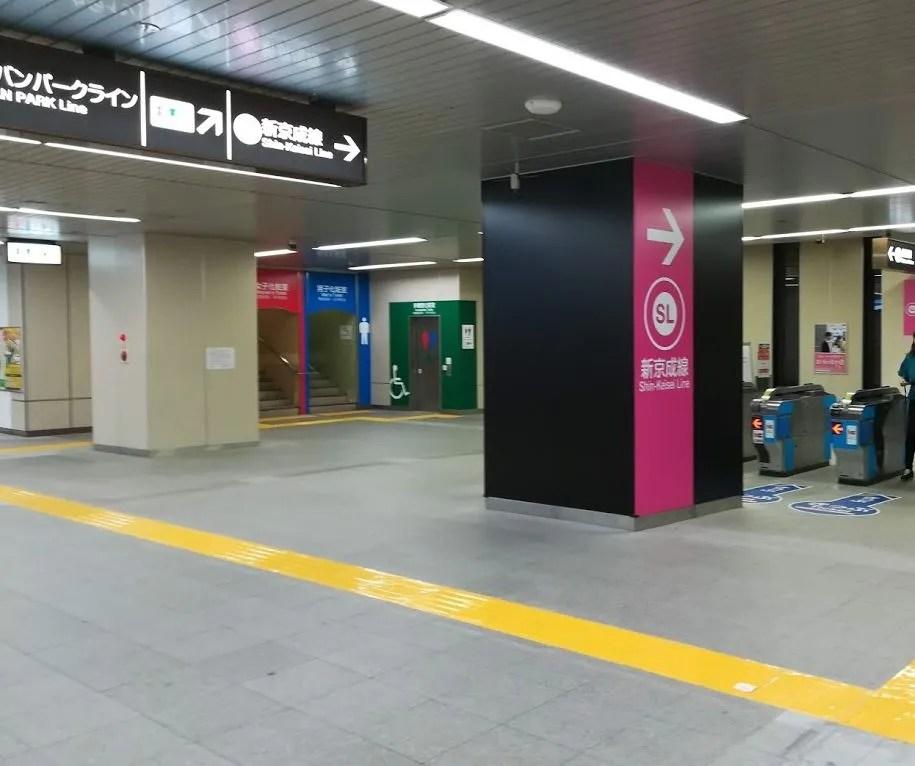 新しくなった新鎌ヶ谷駅03。