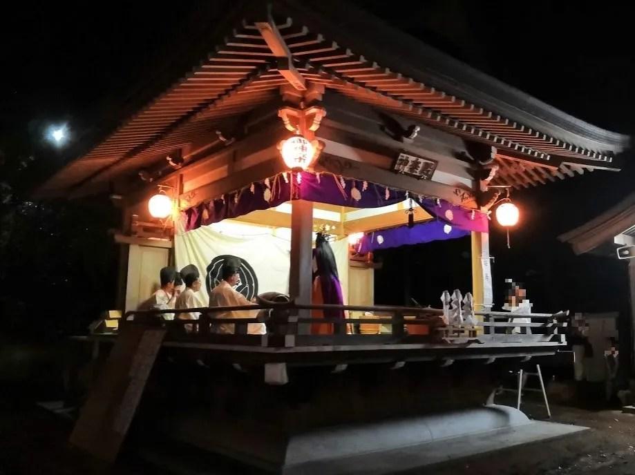 2019 阿夫利神社の梯子立てに行きました!02