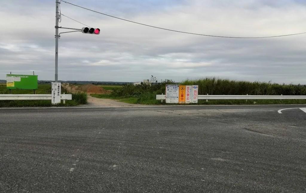 県道鎌ヶ谷本埜線関連の新しい道路、02。