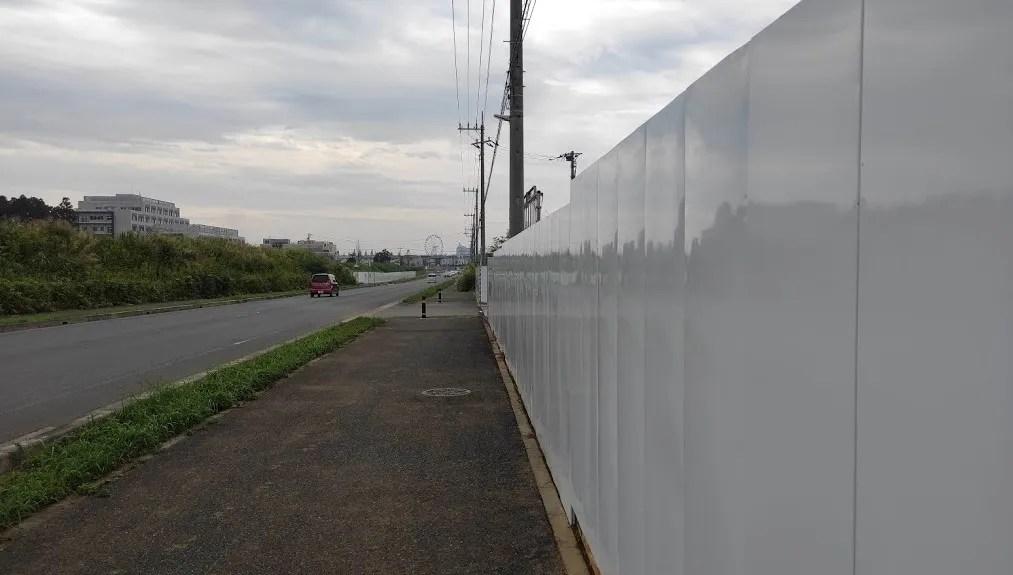 d-project敷地内の「AIRTRUNK」さんDC建設地付近。01