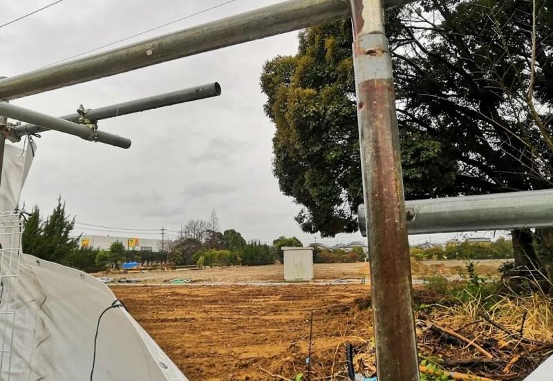 木下のデキシー工場跡地の様子、202003_02