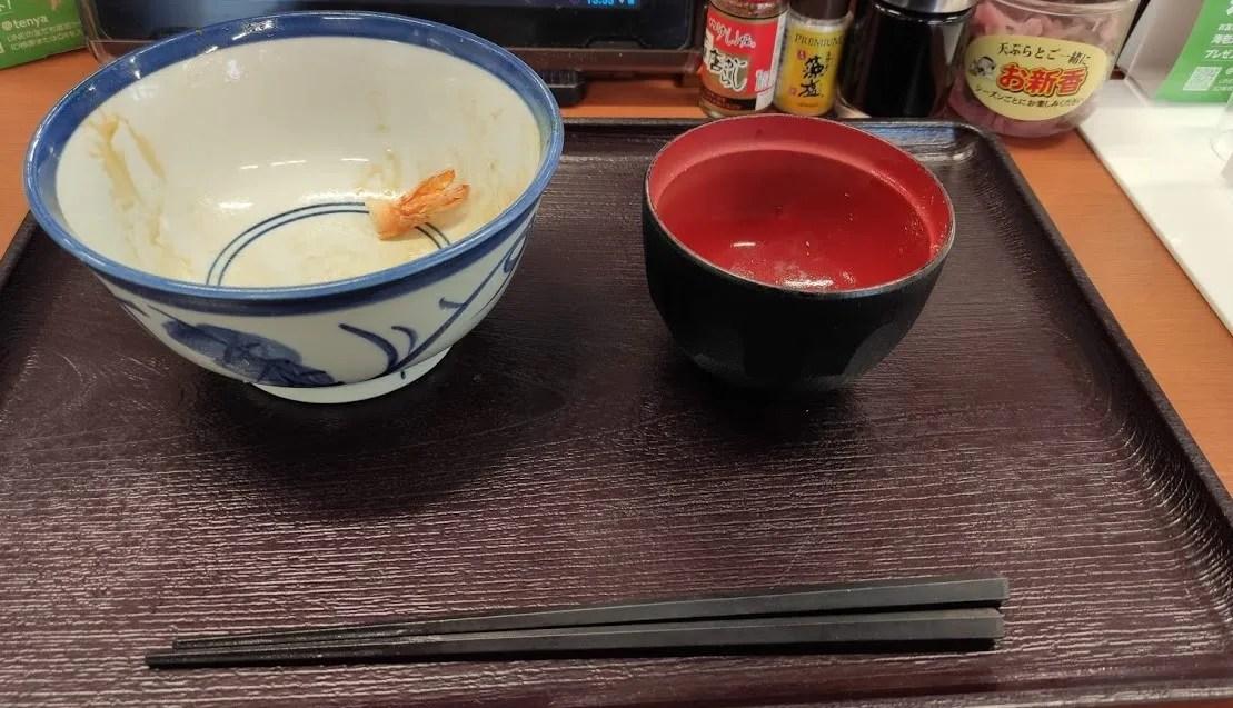 「てんや」千葉ニュータウン店さん、閉店だそうです。07