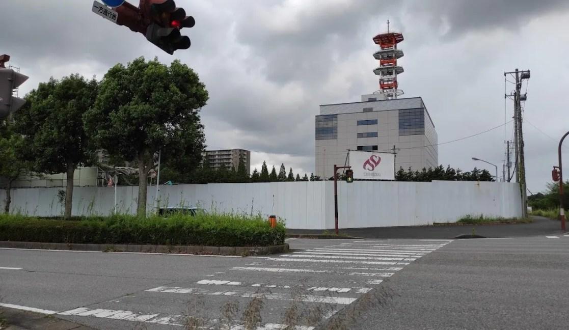「トライアル」千葉ニュータウン店の解体が開始。07