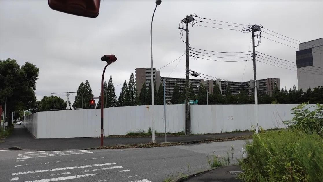 「トライアル」千葉ニュータウン店の解体状況、202107。02