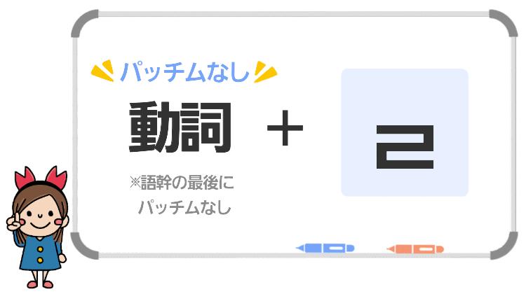 動詞(パッチムなし)+ㄹ