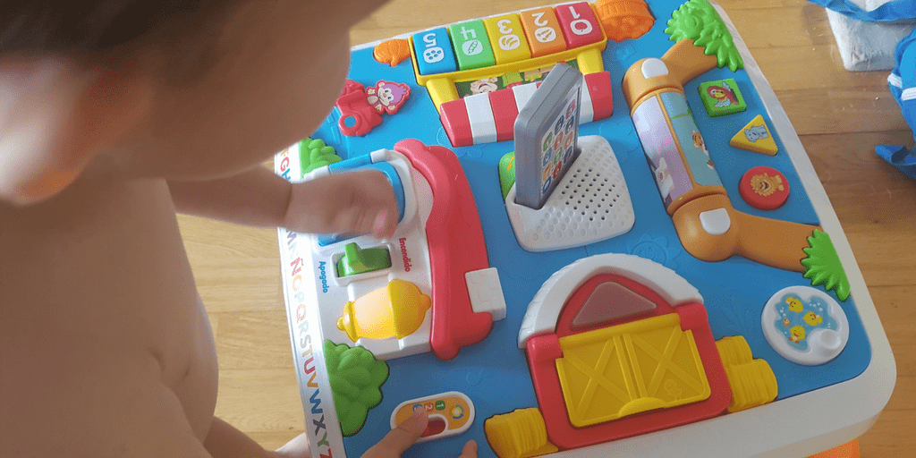 Nos divertimos con Fisher Price