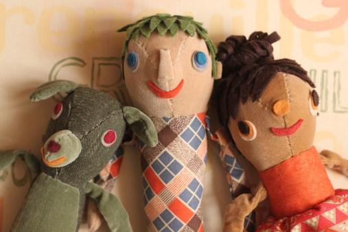 TuTu MouMou, KiKi MoMole et Occhi Moelleux