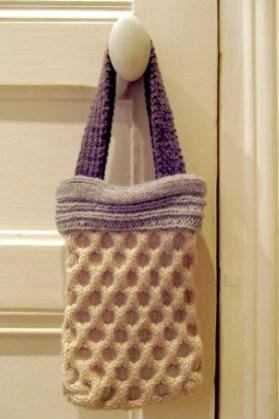 Sac à main en tricot