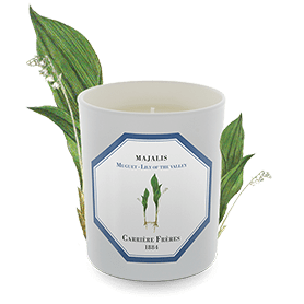 Carriere Freres Scented Candle Majalis Lily