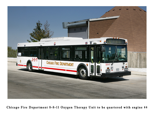 Chicago Fire Department 8-8-11 Oxygen Therapy Unit