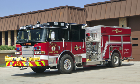Glenview engine 8 Pierce Arrow XT