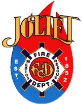 Joliet Fire Department decal