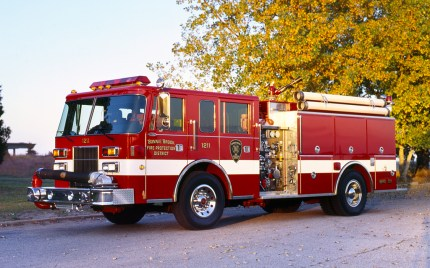 Bonnie Brook Fire Protection District Pierce Saber engine