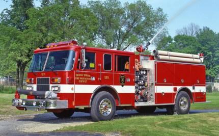 Bonnie Brook Fire Protection District Pierce Saber pumper