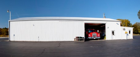 Newport Township Fire Protection District auxilary building