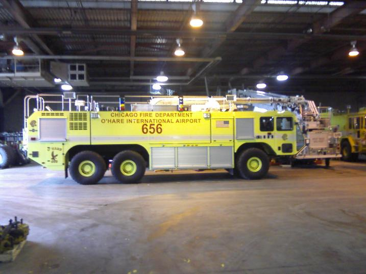 Chicago Fire Department O'Hare Airport Oshkosh Striker 3000 ARFF