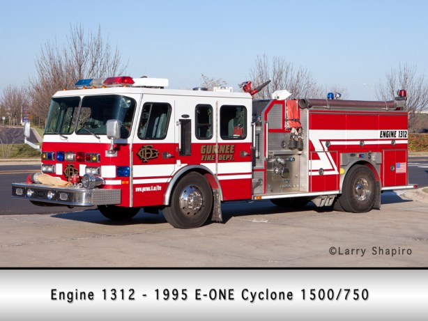 Gurnee Fire Department EONE Cyclone engine