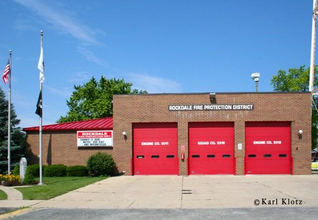 Rockdale IL FPD station