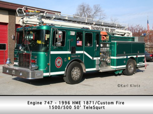 Thronton Fire Department HME Custom Fire TeleSqurt