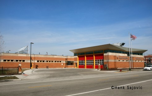 Chicago Fire Department Engine 18's house