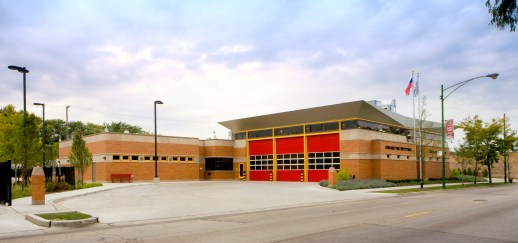 Chicago Fire Department station for Engine 102