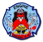Chicago Fire Department Engine 30 patch