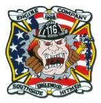 Chicago Fire Department patch Engine 116