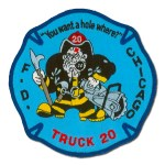 Chicago Fire Department patch Truck 20