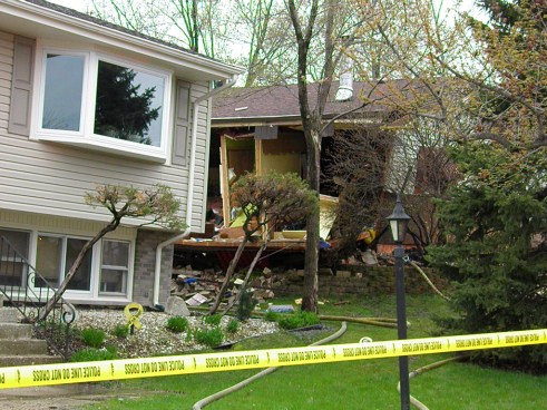 House explosion in Hickory Hills IL