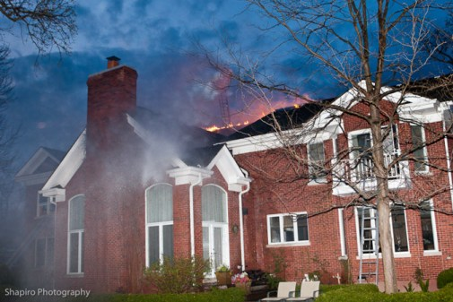 Highland Park house fire Sheridan Road 5-9-11