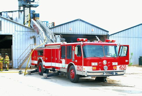 Pleasant Prairie WI Fire Department commercial fire 5-19-11