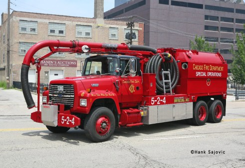 Chicago Fire Department RescueVac 5-2-4