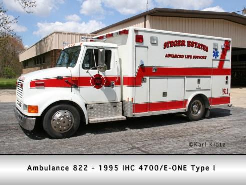 Steger Estates FPD ambulance