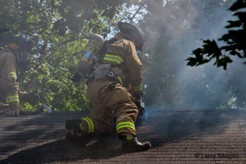 Buffalo Grove house fire on Farrington Drive 8-31-11