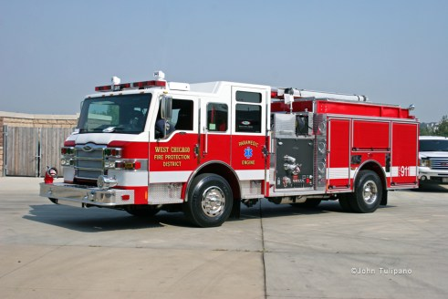 West Chicago FPD 2011 Pierce Impel pumper