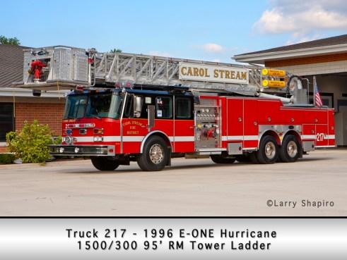 Carol Stream Fire District Truck 217