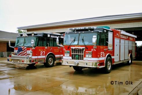 Carol Stream Fire District Squad 27