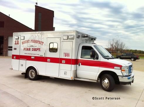 Mount Prospect Fire Department Ambulance 12 Medtec
