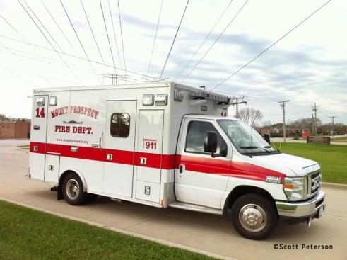 Mount Prospect Fire Department Ambulance 14 Medtec