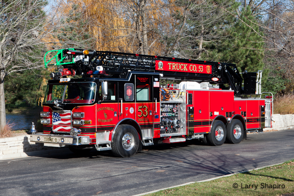 Linclonshire-Riverwoods Fire Protection District Truck 53