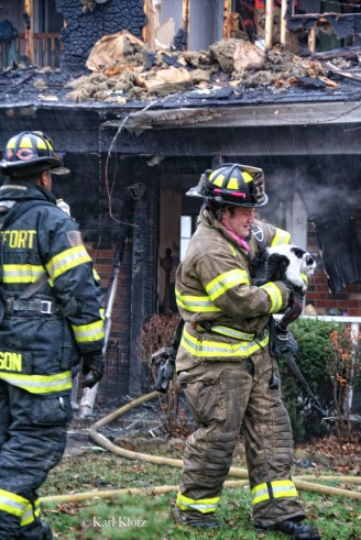Frankfort house fire 11-22-11