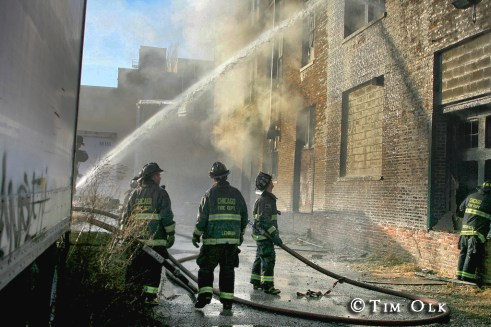 Chicago Fire Department 3-11 Alarm Fire 12-31-11 37th Street