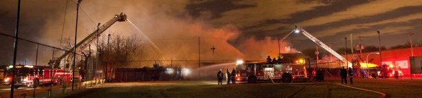 Chicago 2-11 Alarm industrial fire 2880 w 48th Place 2-26-12