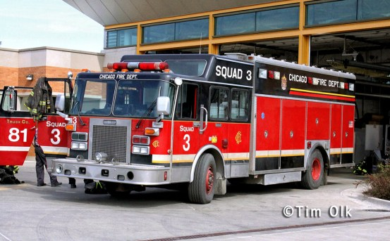 Chicago Fire tv show Squad 3