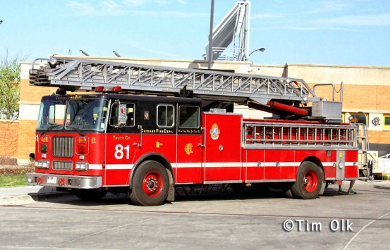 Chicago Fire tv show Truck 81