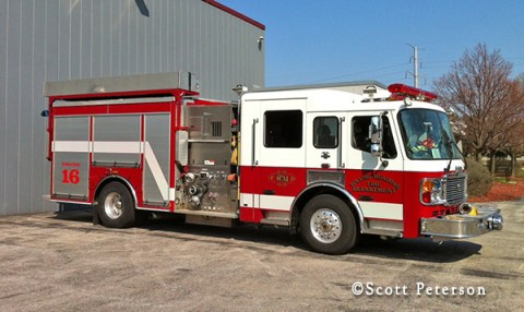 Rolling Meadows Fire Department Engine 16 American LaFrance