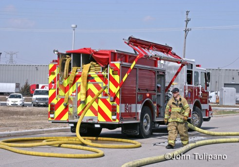 West Chicago Fire Protection District Engine 7 Pierce Impel