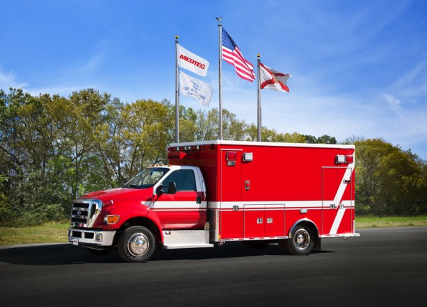 new Medtec ambulance for Roselle